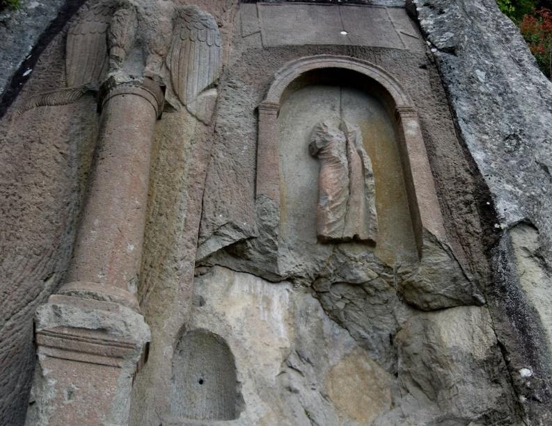 Kuş Kayası Kaya Mezarları
