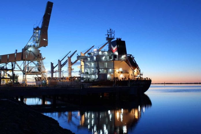 Adelaide port