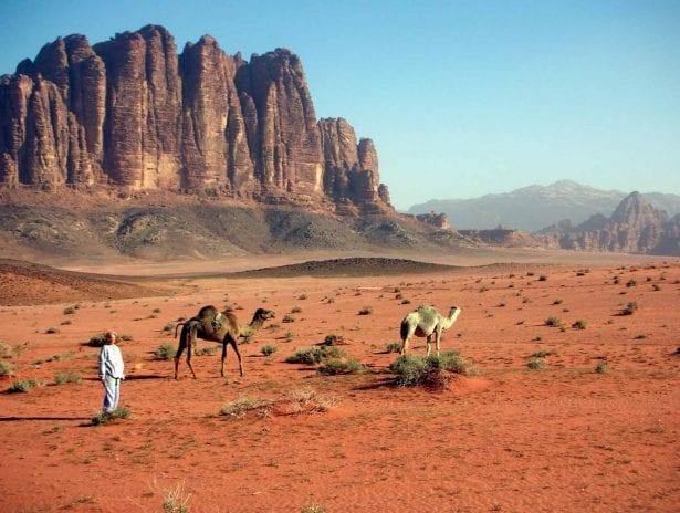 Kırmızı Kum Tepeleri, Wadi Rum