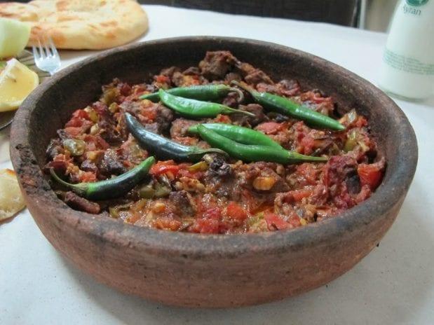 Nevşehir'in yöresel yemekleri
