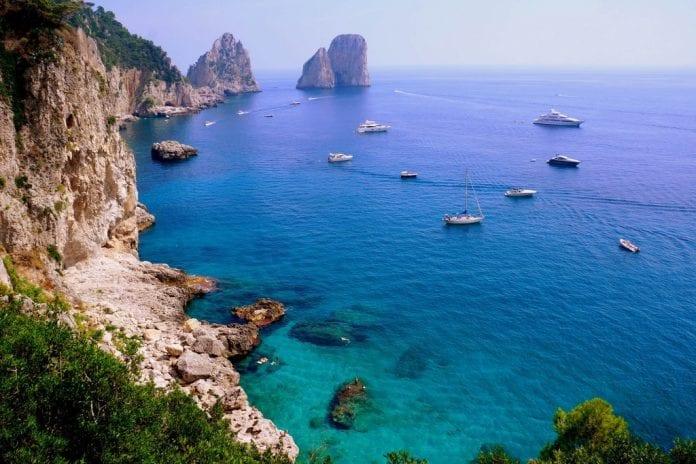 Capri oasis wedding