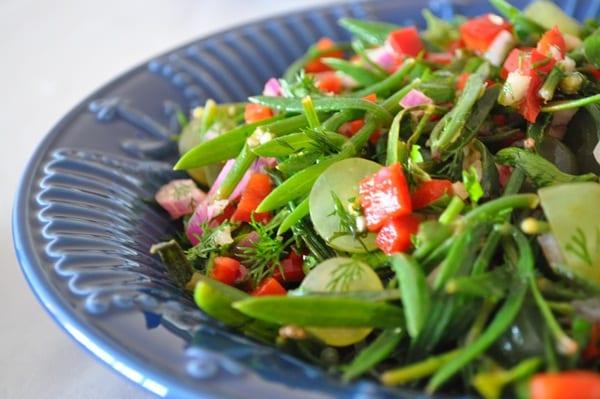 Kaya Koruğu Salatası