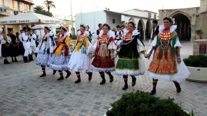 dans festivali kıbrıs