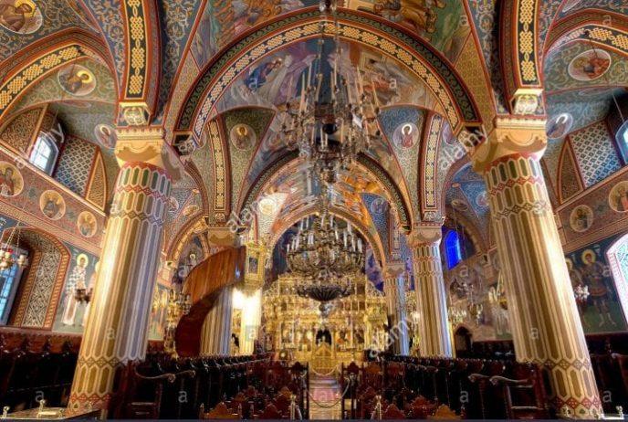 kıbrıs boyalı kiliseler