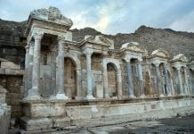 alinda antik kenti