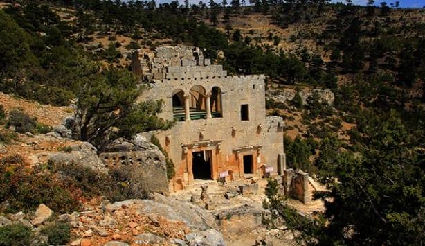 alahan manastırı