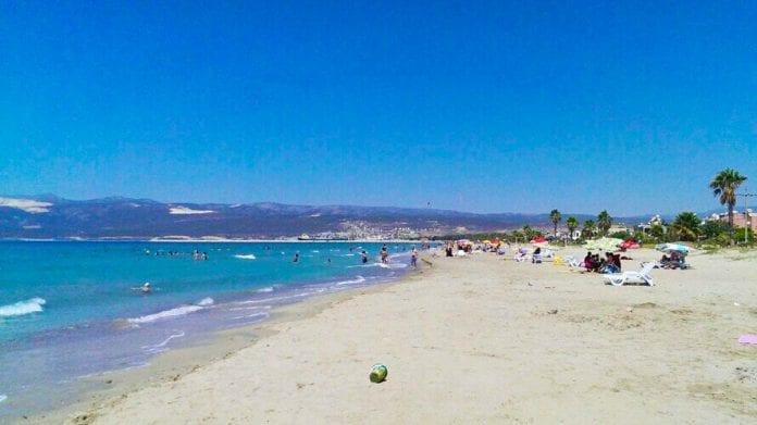 kum mahallesi plajı