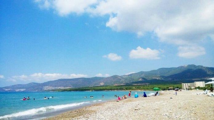 yeşilovacık plajı