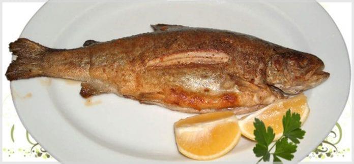 tandırda van balığı