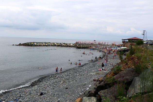 kıyıcık plajı