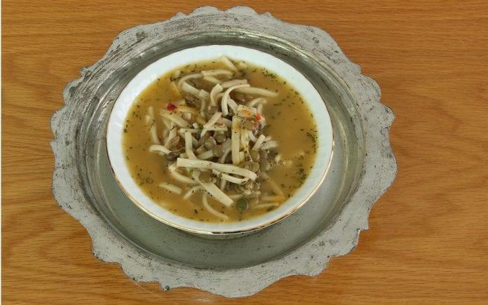 Sakala Çarpan Çorbası