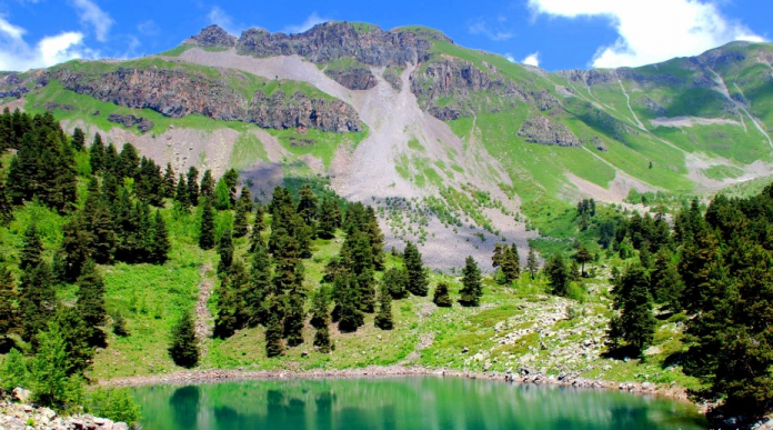 şırata gölleri