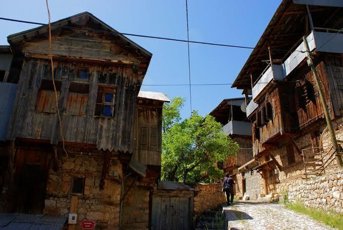 kemaliye evleri