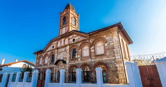 sveti georgi bulgar kilisesi