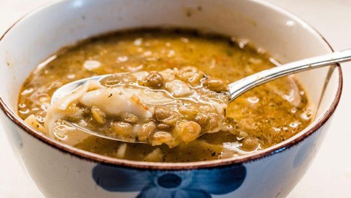 tatar hamuru çorbası