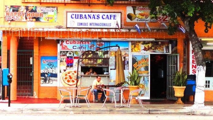 Cubanas Cafe Little Havana
