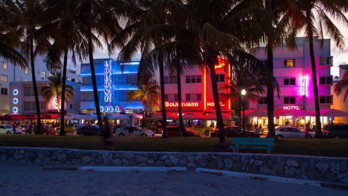 Art Deco District Miami Florida