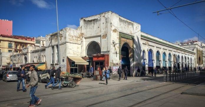 Central Market Fas Kazablanka