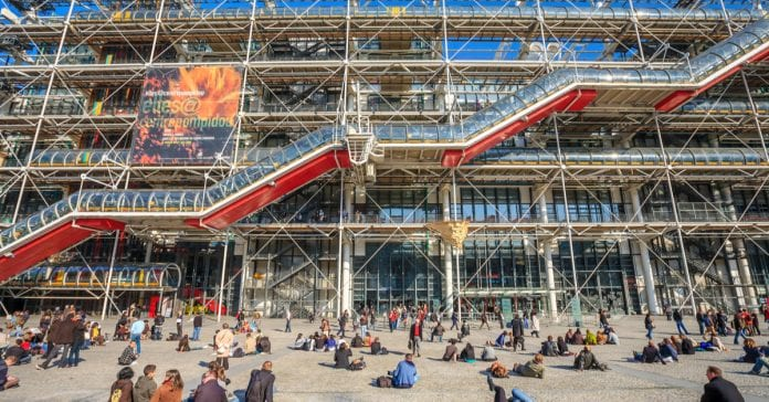 georges pompidou sanat merkezi