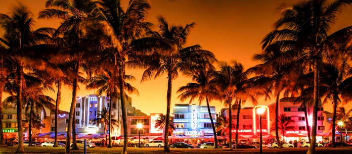 Ocean Drive Florida Miami