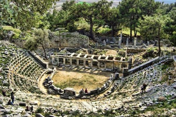 priene antik kenti