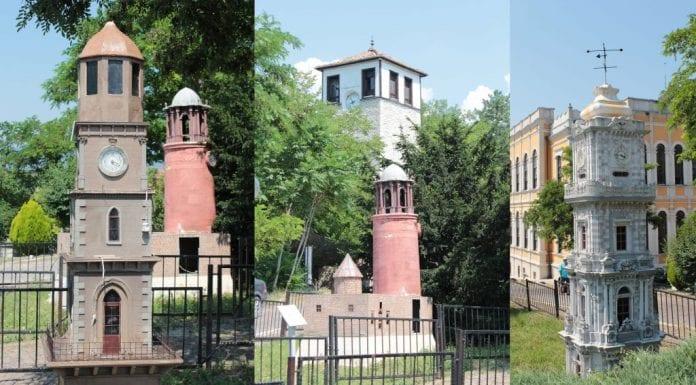 minyatür saat kuleleri parkı