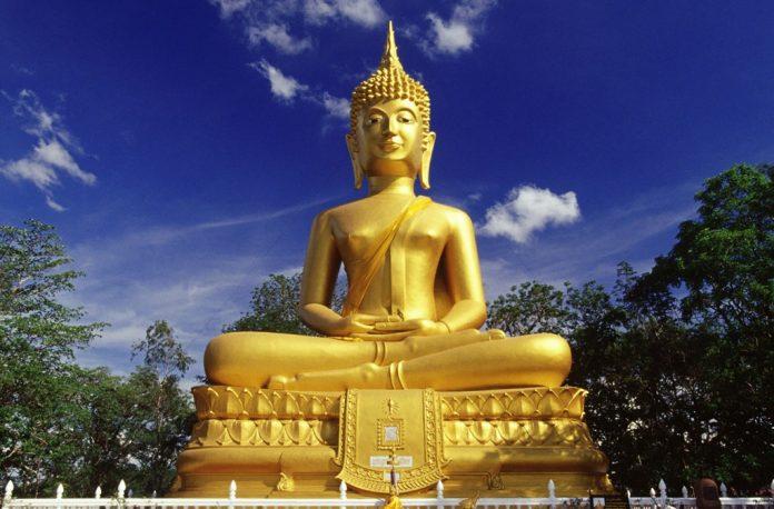 Altın Buddha Heykeli