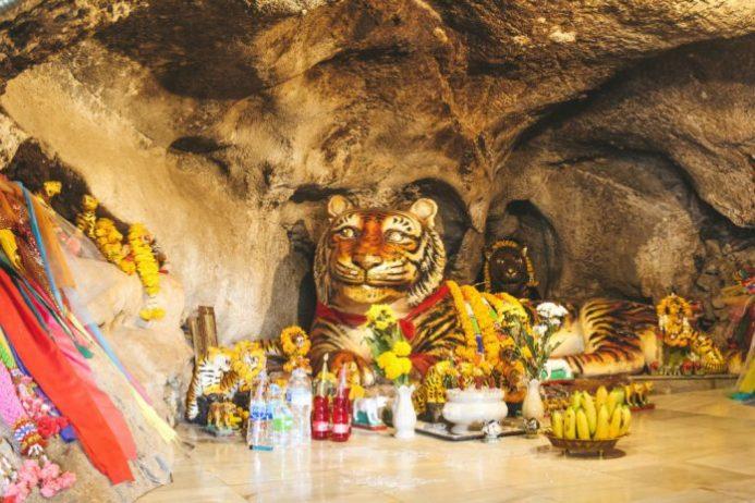 Tiger Temple Cave