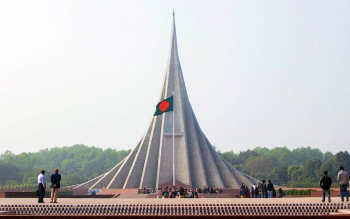 bangladeş ulusal şehitler anıtı