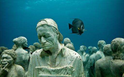 Cancun Sualtı Müzesi