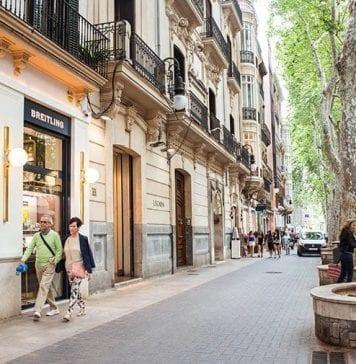 Palma de Mallorca Alışveriş Caddesi