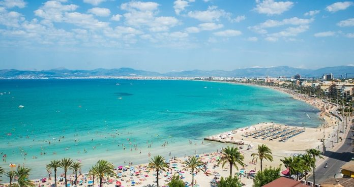 Palma de Mallorca Beach