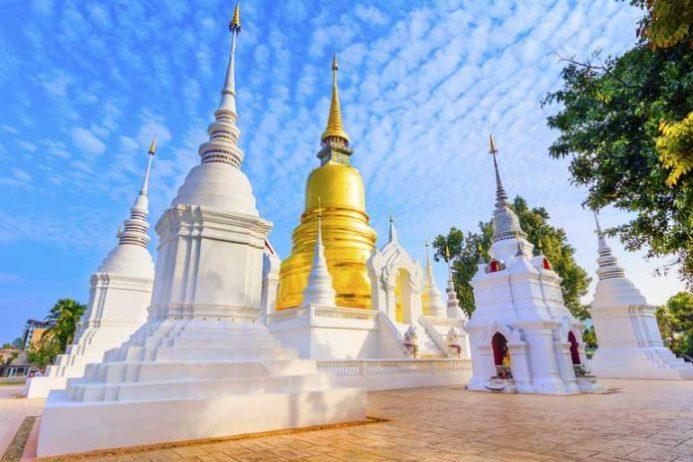Wat Suan Dok Tapınağı