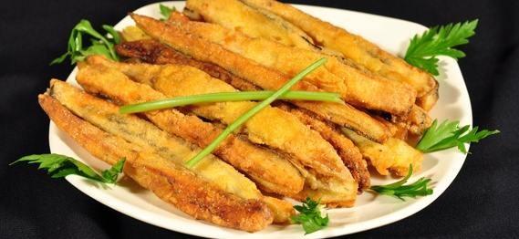 yumurtalı patlıcan kızartması