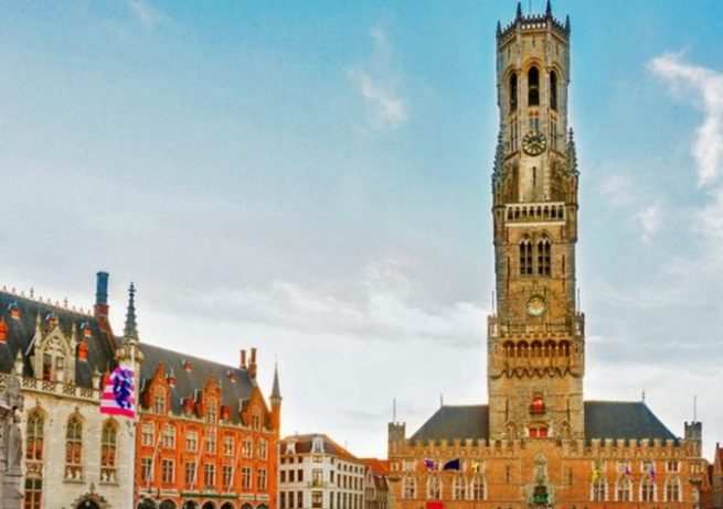 Bruges Belfry Halle