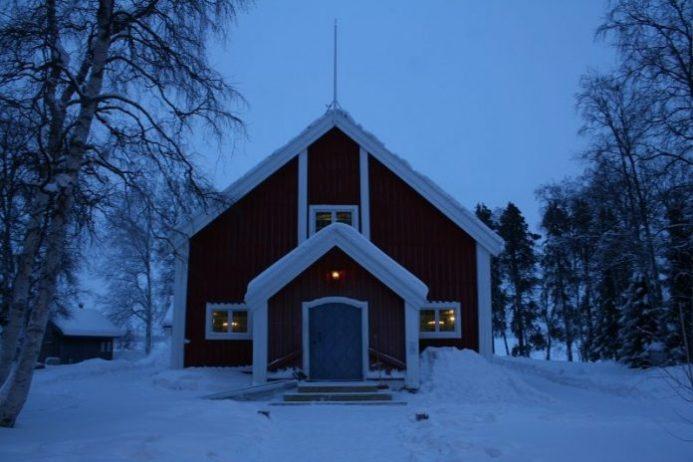 Jukkasjarvi Kilisesi