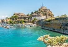 Korfu Adası Eski Kale