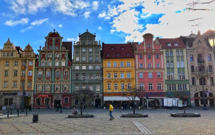 Wroclaw Eski Şehir Meydanı
