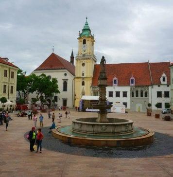 bratislava şehir merkezi