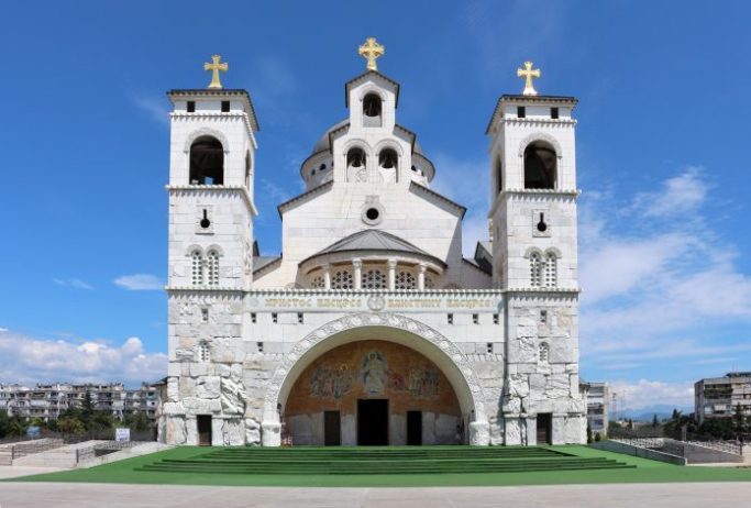 cathedral of the resurrection of jesus podgorica