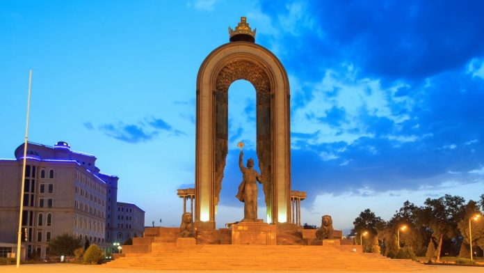 ismoili somoni monument