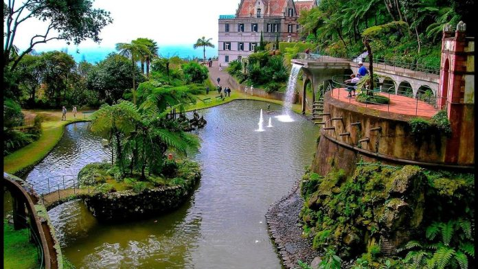 jardin tropical monte palace