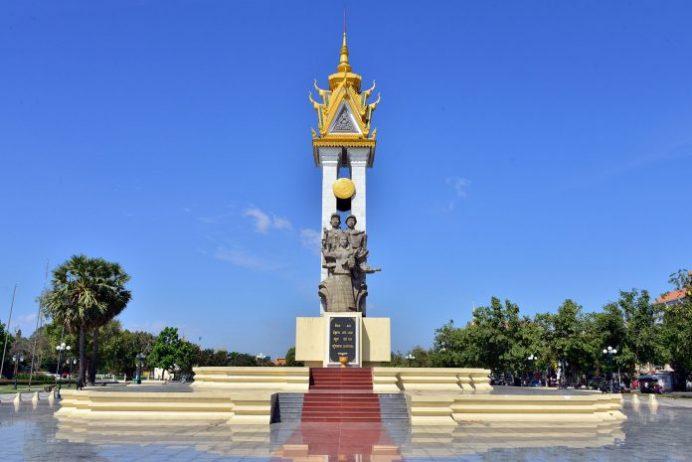 Kamboçya Vietnam Dostluk Anıtı
