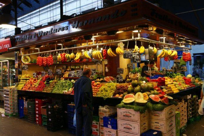 La Boqueria Pazarı