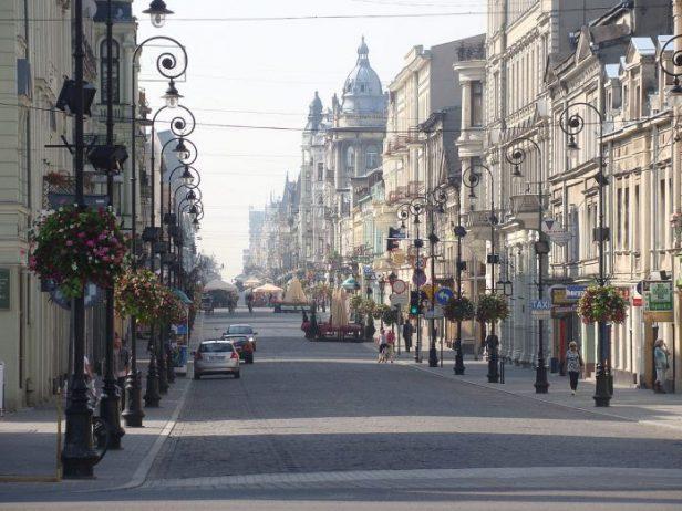 Piotrkowska Caddesi