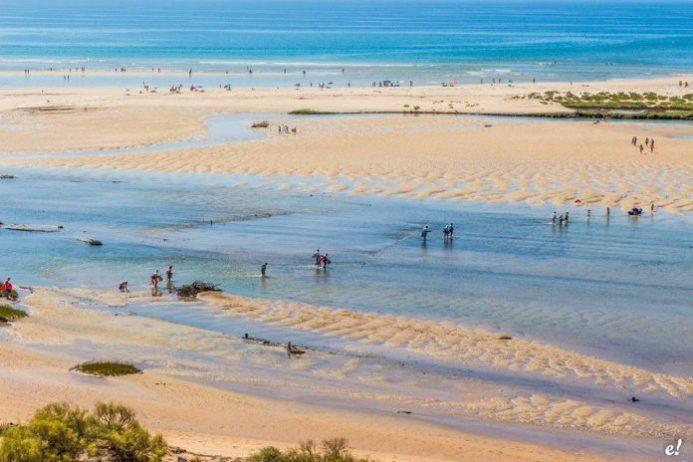 Praia de Cacela Velha, Manta Rota