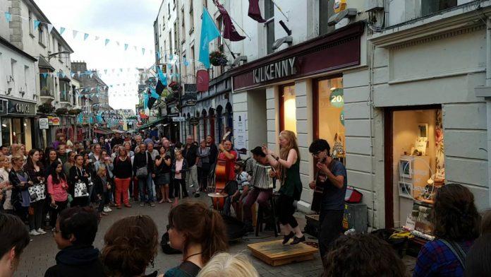 Galway'de Alışveriş