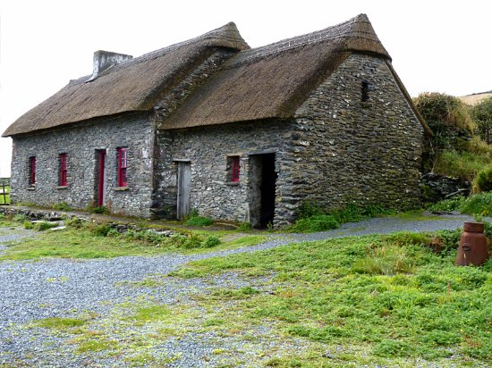 Irish Famine Cottages