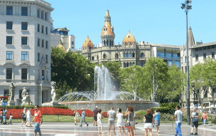 Plaça De Catalunya Meydanı