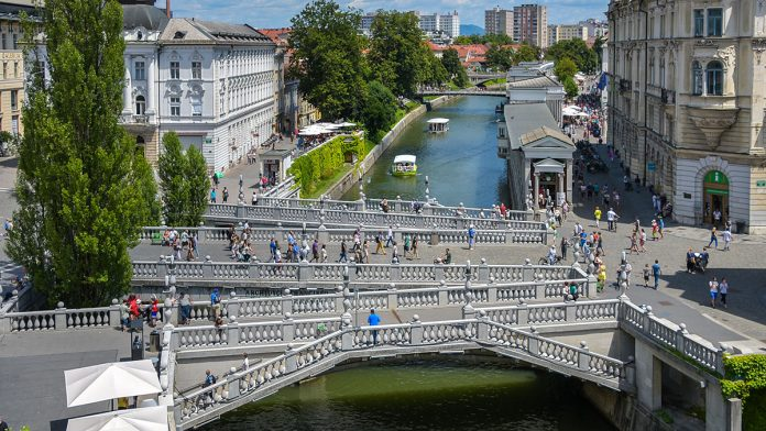 triple bridge ljubljana